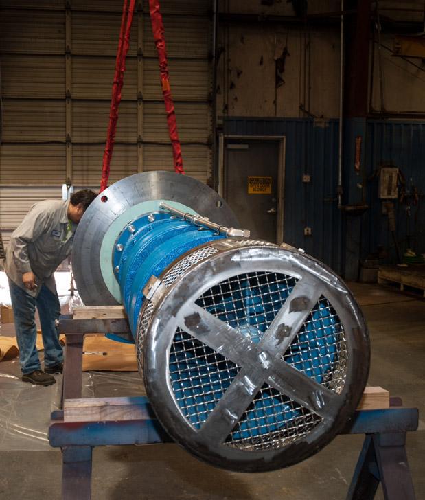 rotating equipment pump repair
